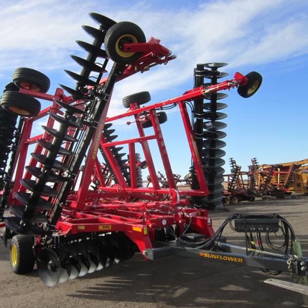 CaseIH, Sunflower, Great Plains, Orthman, DMI tillage equipment