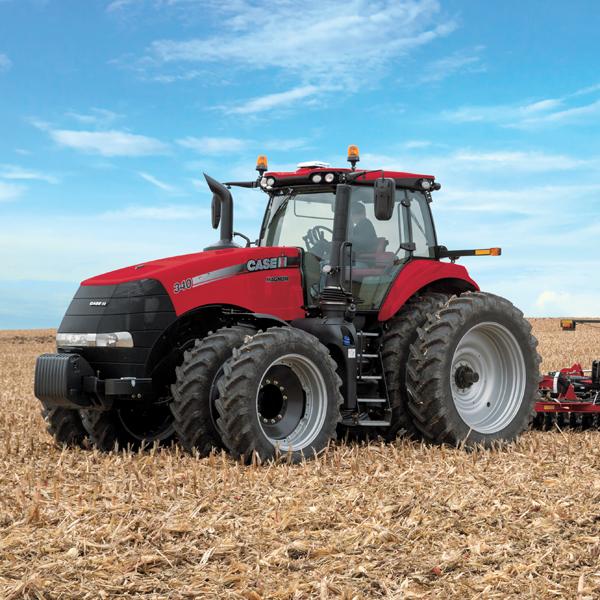 new and used CaseIH, Kubota tractors